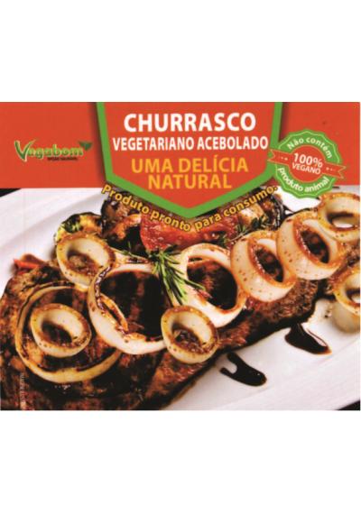 Churrasco Vegetariano Acebolado 400g Vegabom