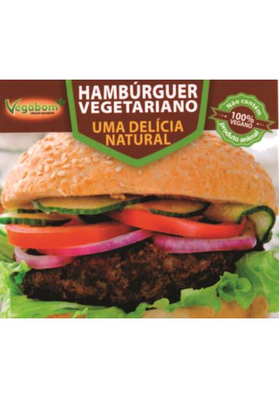 Hamburguer Vegetariano 500g Vegabom