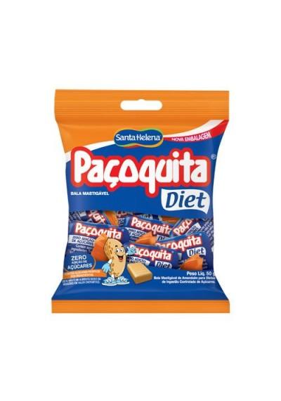 Bala Mastigável Paçoquita Diet 50g