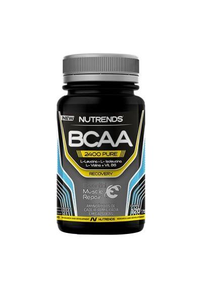 BCAA Aminoácidos Nutrends 120 capsula