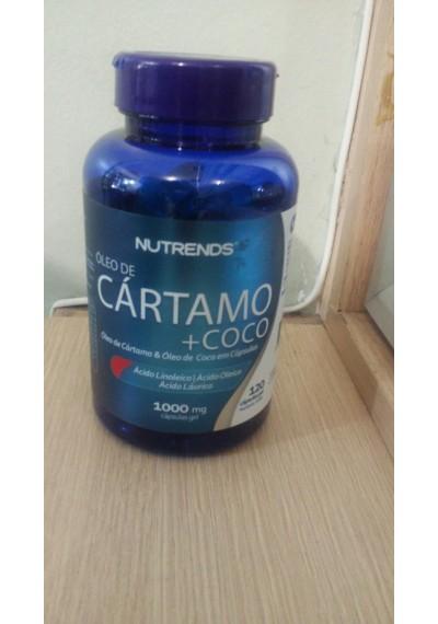 Cartamo+coco c/120 capsula de 1000mg Nutrens