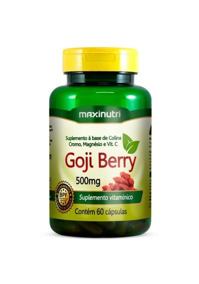 Goji Berry 60 Cápsulas de Maxinutri 500mg