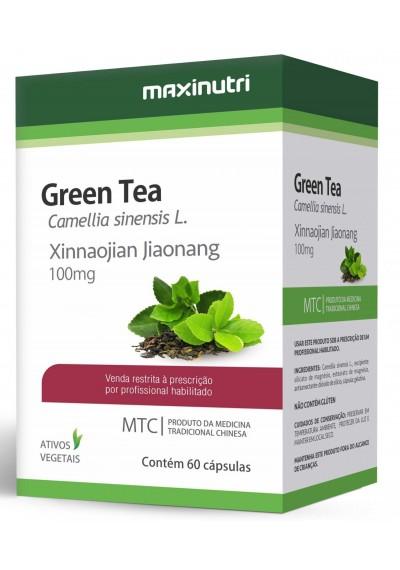 Green Tea Xinnaojian Jiaonang 100mg Maxinutri (Chá Verde )