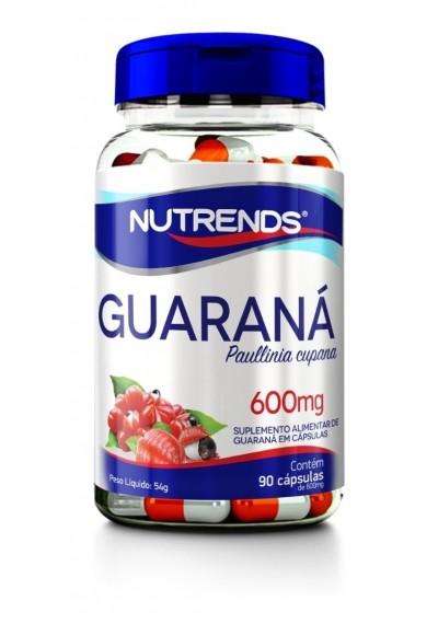 Guaraná Capsula 600mg c/ 90 capsula  Nutrends