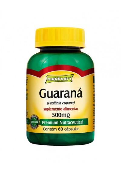 Cápsulas de Guaraná 500mg Maxinutri