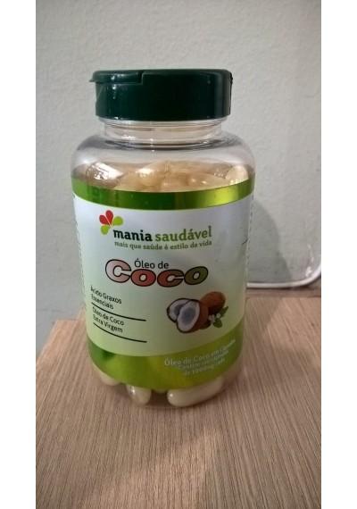 Óleo de Coco 1000 mg com 100 capsula  Mania Saudável