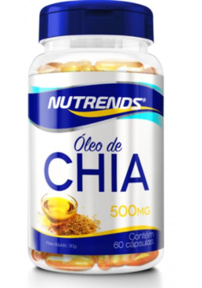 Óleo de Chia Nutrends 60 capsula 500mg