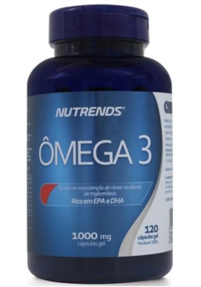 Omega 3 - 120 Cápsulas de 1000 mg Nutrends