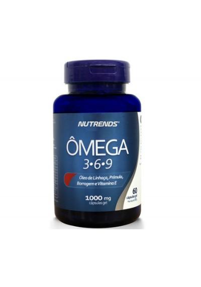 Ômega 3.6.9  c/60 capsula de 1000 mg Nutrends