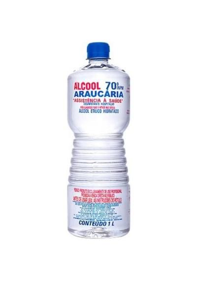 Álcool Líquido Araucária 70º 1L