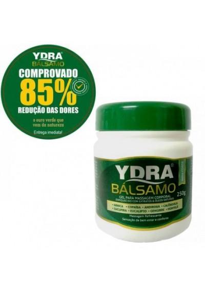Ydra Bálsamo 250gGel Arnica, Copaíba, Andiroba, Sucupira para massagem corporal