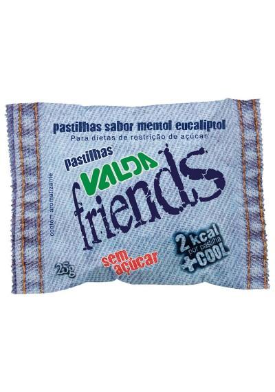 Pastilhas Valda Friends Sem Açúcar 25g